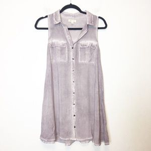 Urban Outfitters Silence & Noise Purple Tunic